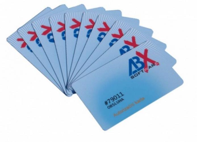 Bezkontaktní RFID karta