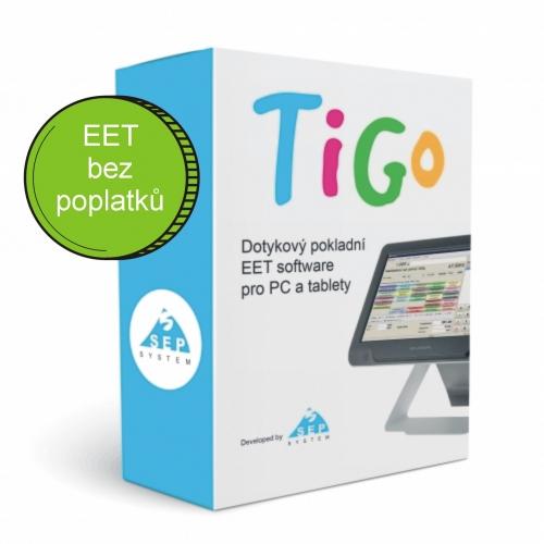 Pokladní EET software TiGo POS restaurace