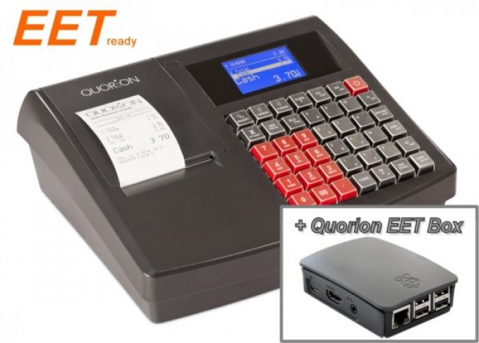 Optima QMP 18 2xRS/USB/OL černá + Quorion EET box (LAN+WiFi)