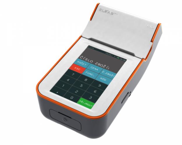 Registrační pokladna ELZAB K10 Wifi nebo GSM