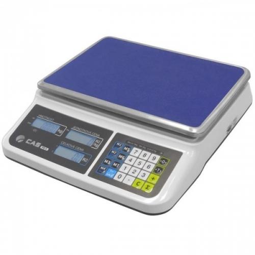 Obchodní váha CAS PR2 s váživostí 15kg