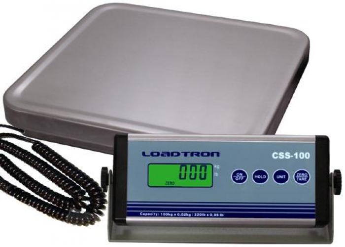 Váha na balíky a sudy CSS-100 s odděl. indikátorem