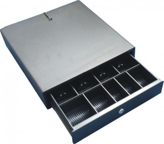 Zásuvka Optima malá černá pro CR2x/5x
