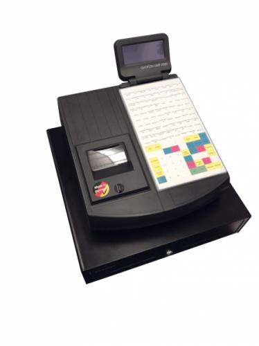 Obchodní pokladna QMP 2244 černá LCK + EET Box