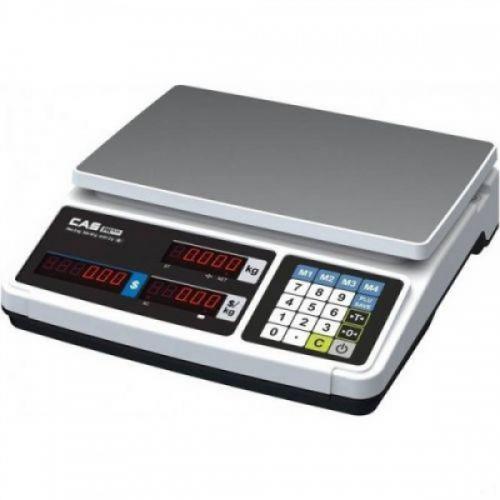 Váha obchodní CAS PR-PLUS 15, LED displej