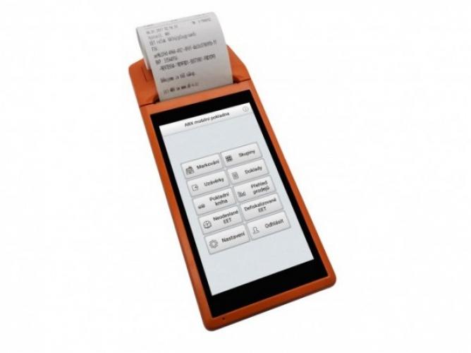 Elio miniPOS V1 5,5 Android s tiskárnou