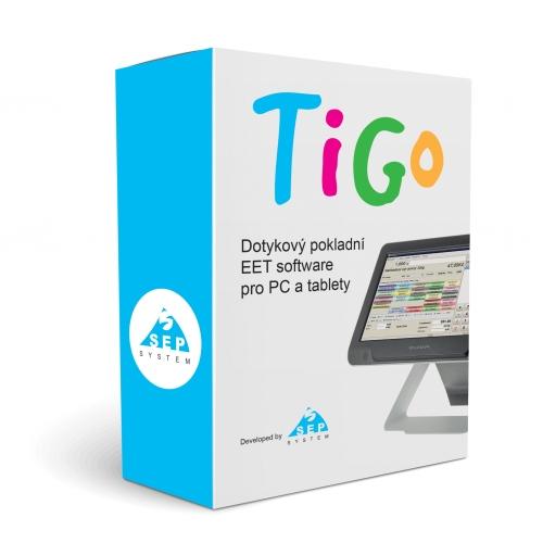 Pokladní software TiGo POS  pro 3. a 4. vlnu EET